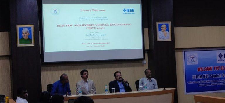 @ IIITDM Chennai 2019